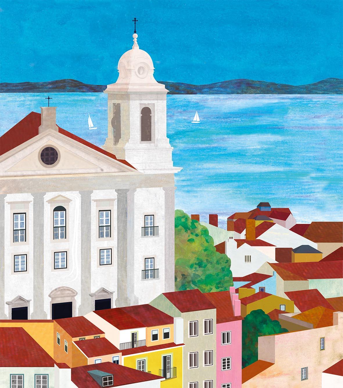 Teresa Arroyo Corcobado, Illustration, Portugal, Lisboa
