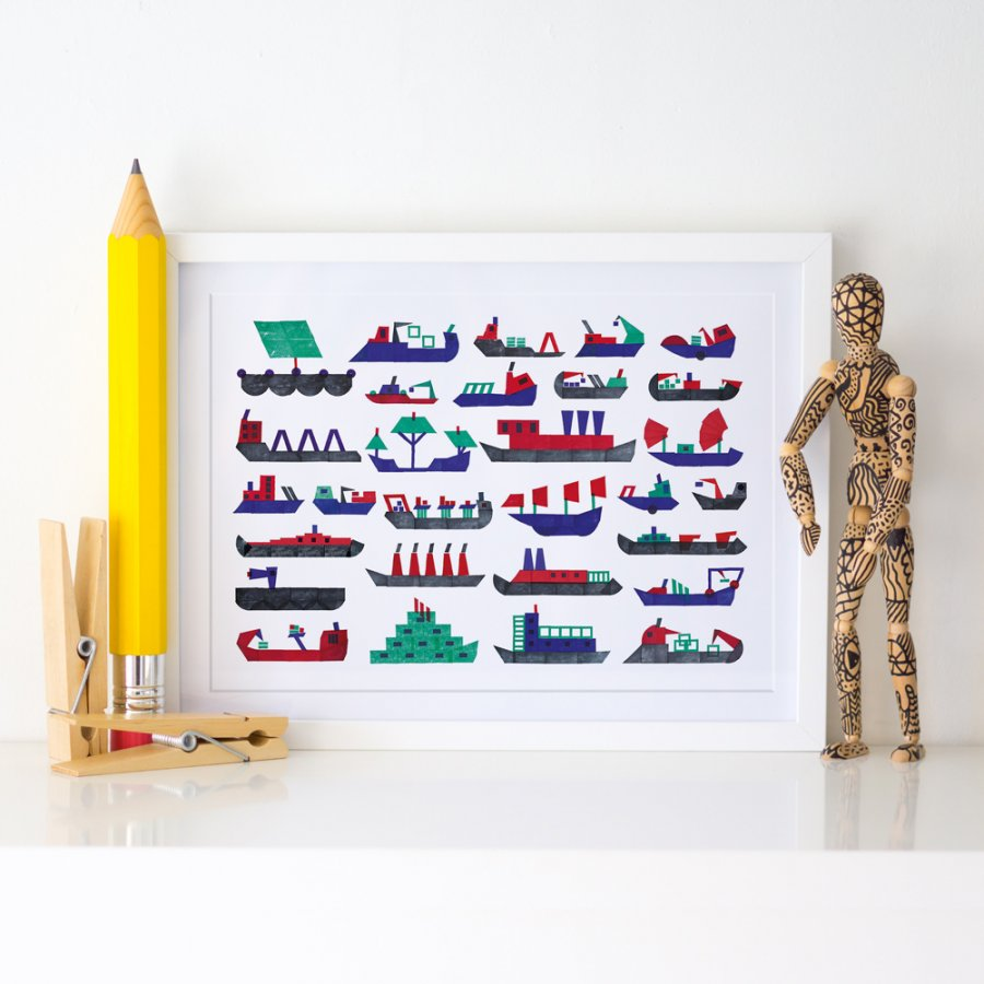 a3-boats-stamps-teresa-arroyo