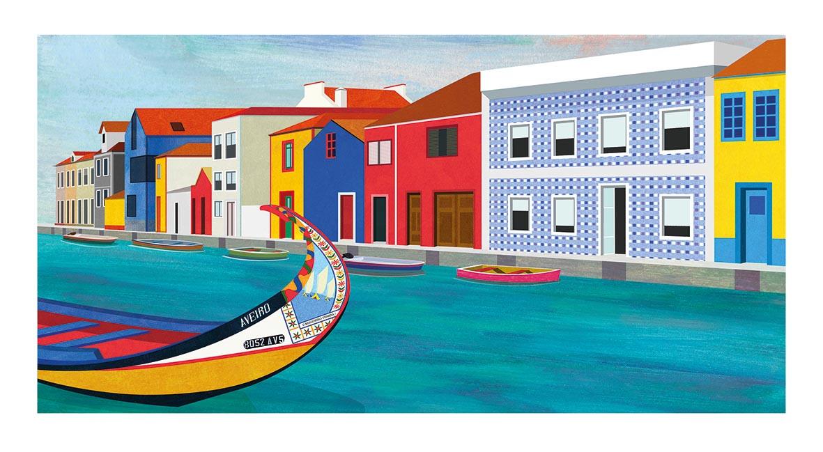 Illustration, Teresa Arroyo Corcobado, Portugal, Aveiro