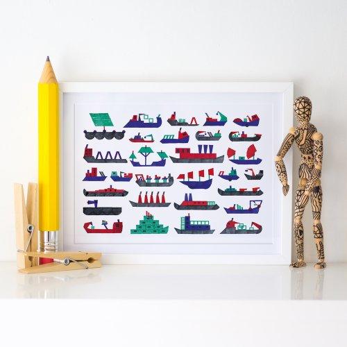 a3-boats-stamps-teresa-arroyo