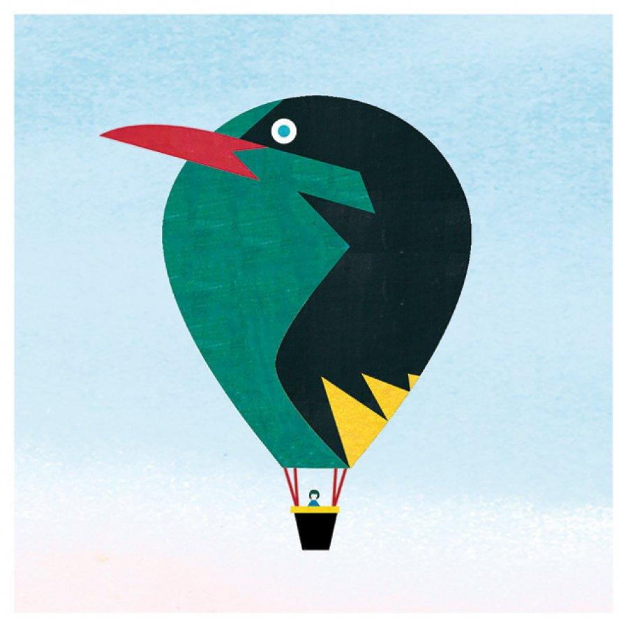 BIRD BALLOON ~ DIGITAL PRINTS